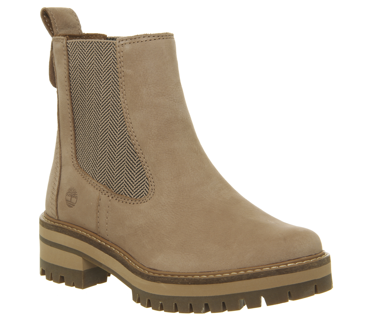 SENTINEL Womens Timberland Courmayer Valle Chelsea Boots TAWNY stivali  marroni 07ffdd5094a