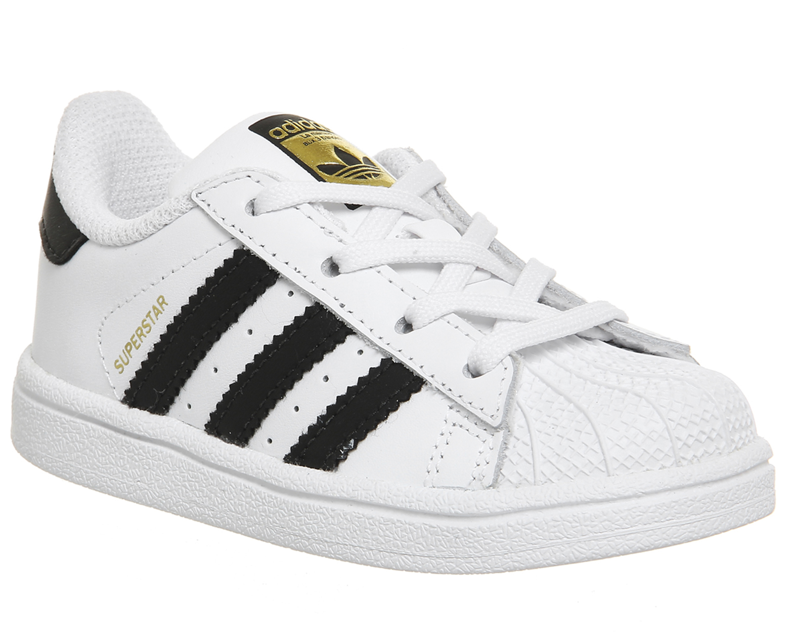 d46b00a0bac7 adidas Superstar CF i, Scarpe da Ginnastica Basse Unisex-Bimbi, Bianco  (Footwear