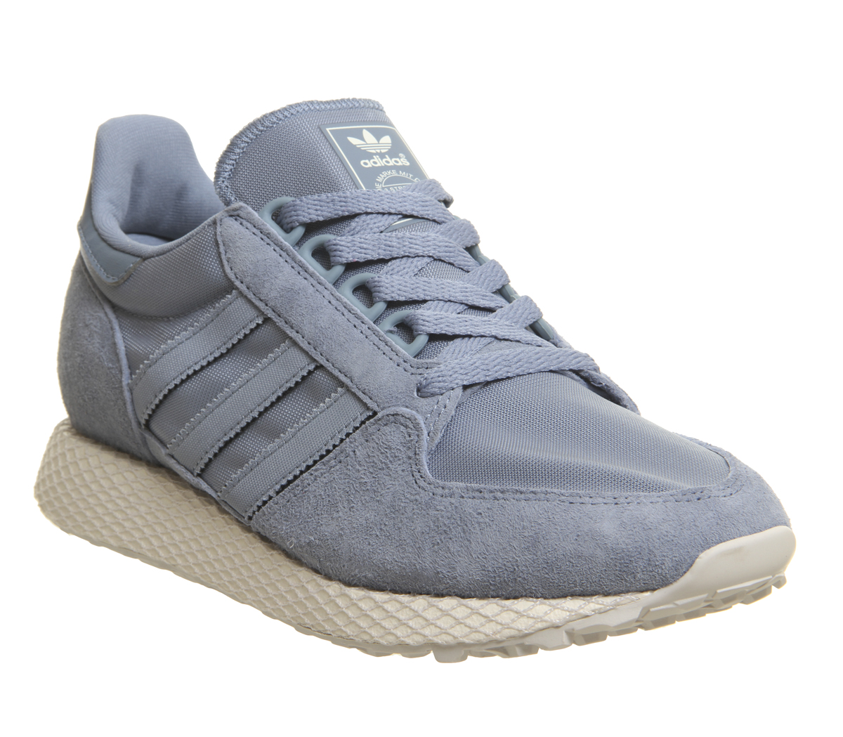942b06fdef5 Sentinel Womens Adidas Forest Grove Trainers Raw Grey Cloud White Grey One  Trainers Shoes