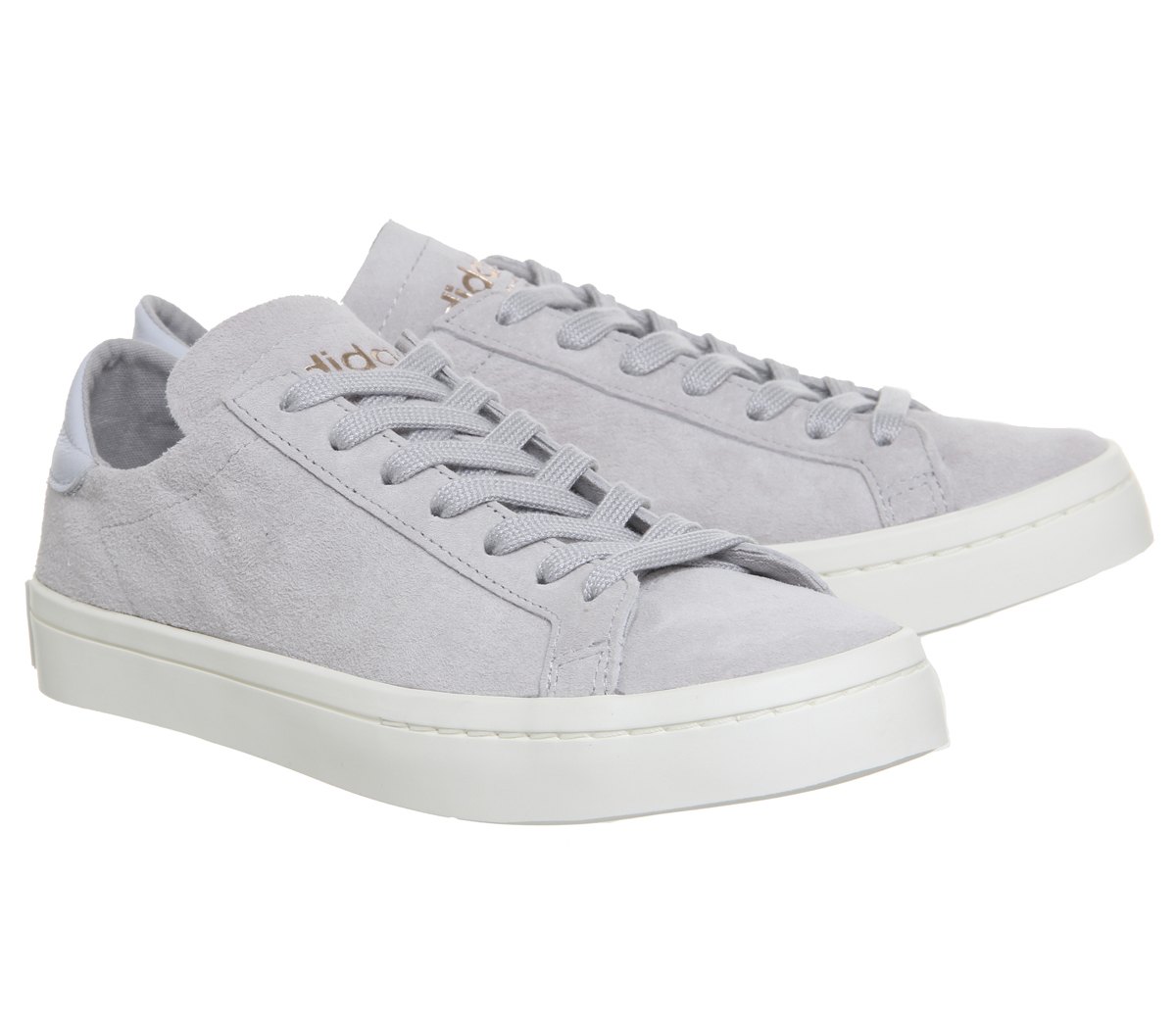 Hombre Hombre Hombre Adidas Court Vantage Trainers Gris TWO AERO Azul OFF Blanco EXCLUSIVE Traine 870126