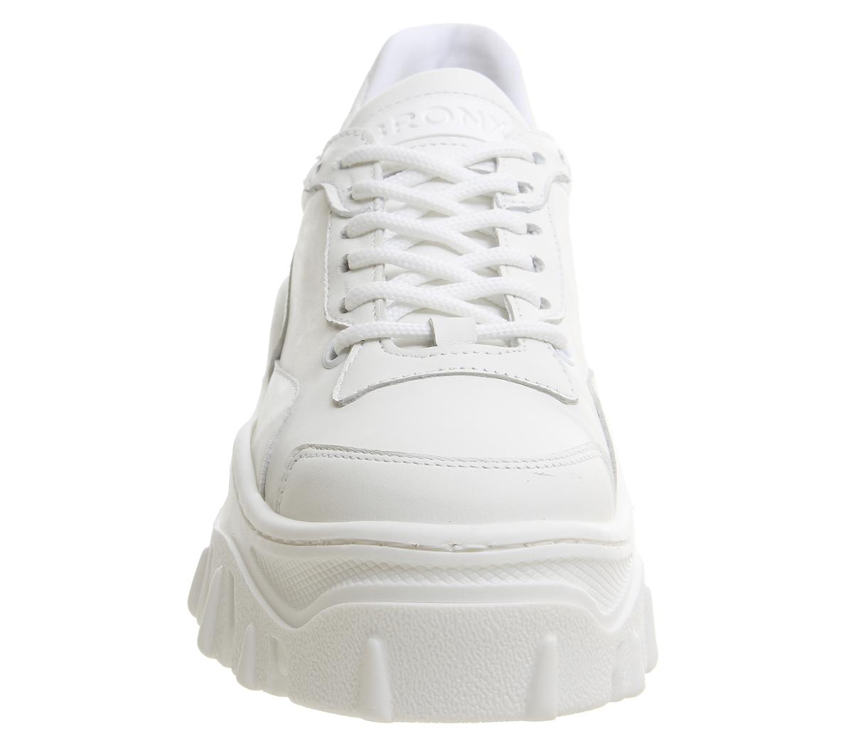 Da Donna Bronx da jaxstar Scarpe da Bronx ginnastica bianca Mono Scarpe Basse 8b1a78