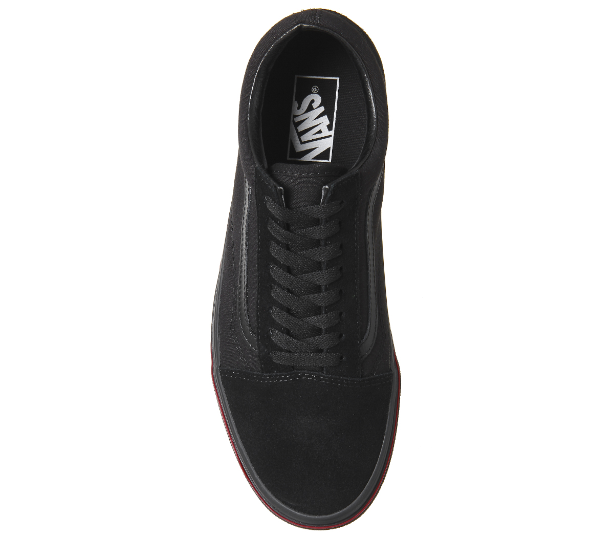 a28ce606fa42fb Mens Vans Old Skool Trainers Black Flame Wall Trainers Shoes