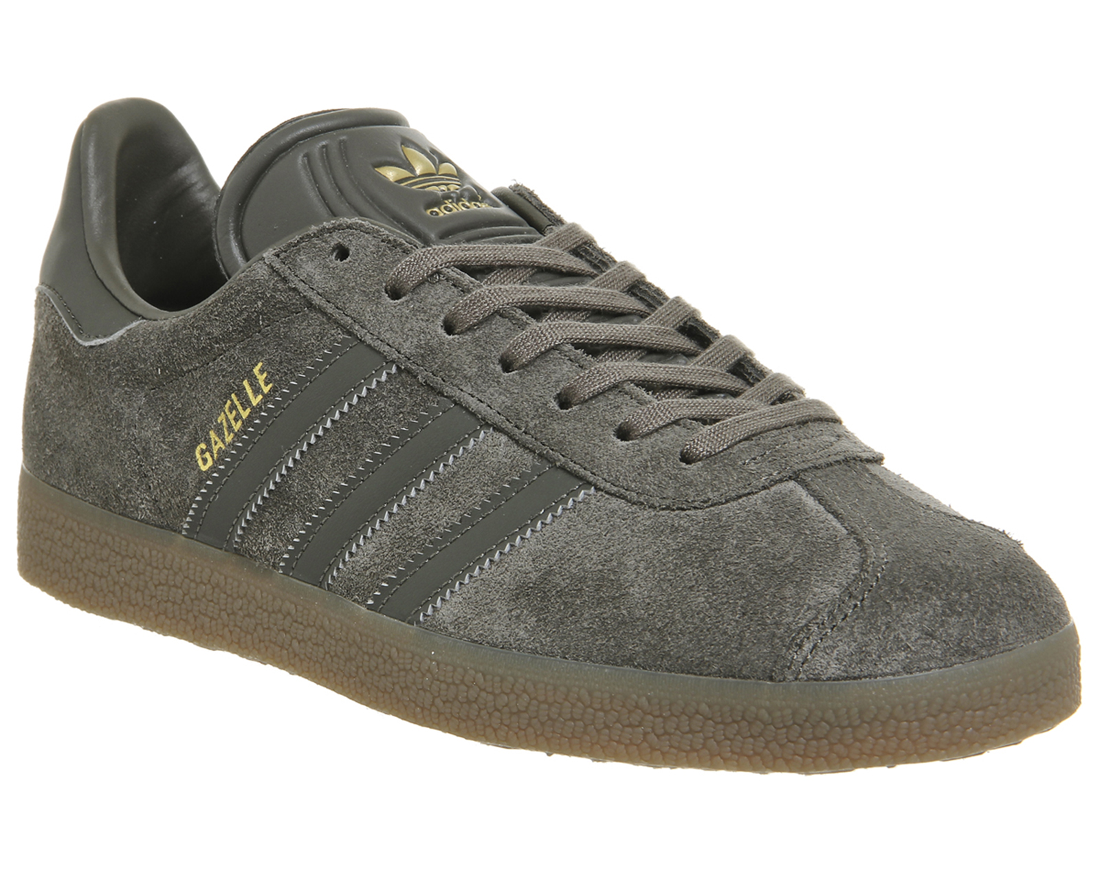 Adidas-Gazelle-UTILITY-GREY-GUM-Trainers-Shoes