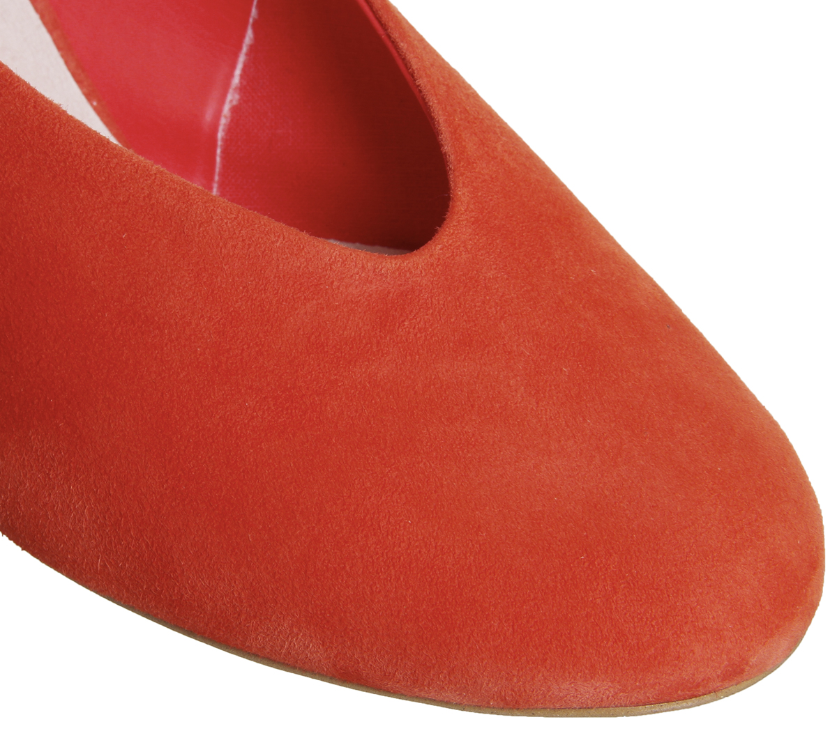 Womens-Office-Magical-Bow-Slingback-Heels-Red-Suede-Heels thumbnail 11