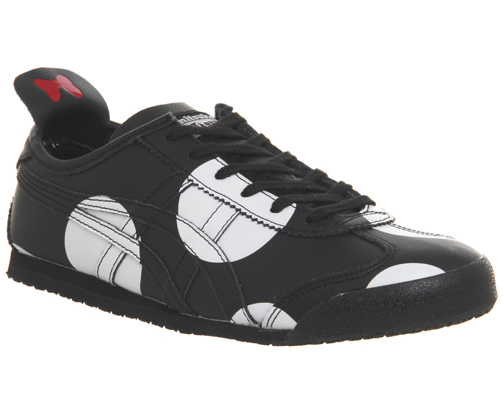 buy popular b4c48 557ae SENTINELLE Womens Onitsuka Tiger Mexico 66 formateurs Minnie Black  formateurs noir chaussures