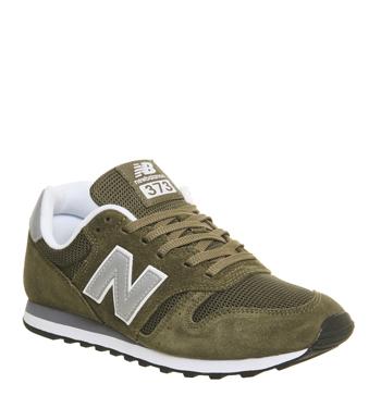 new balance khaki. mens-new-balance-373-olive-silver-trainers-shoes new balance khaki 9