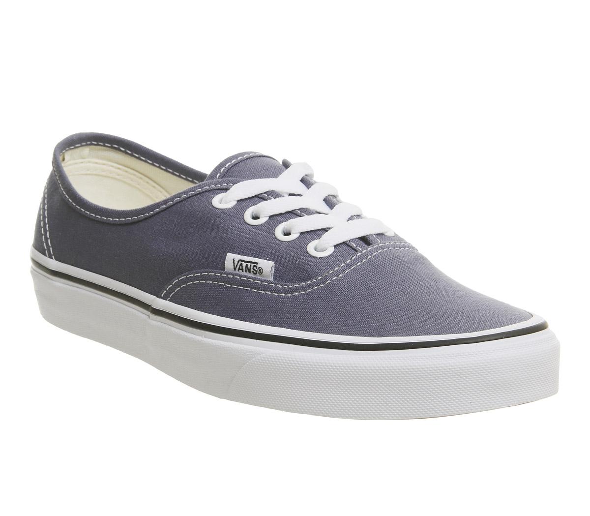 SENTINEL Mens Vans Shoes vero bianco formatori di formatori autentico  GRISAILLE 828d4aa1cac