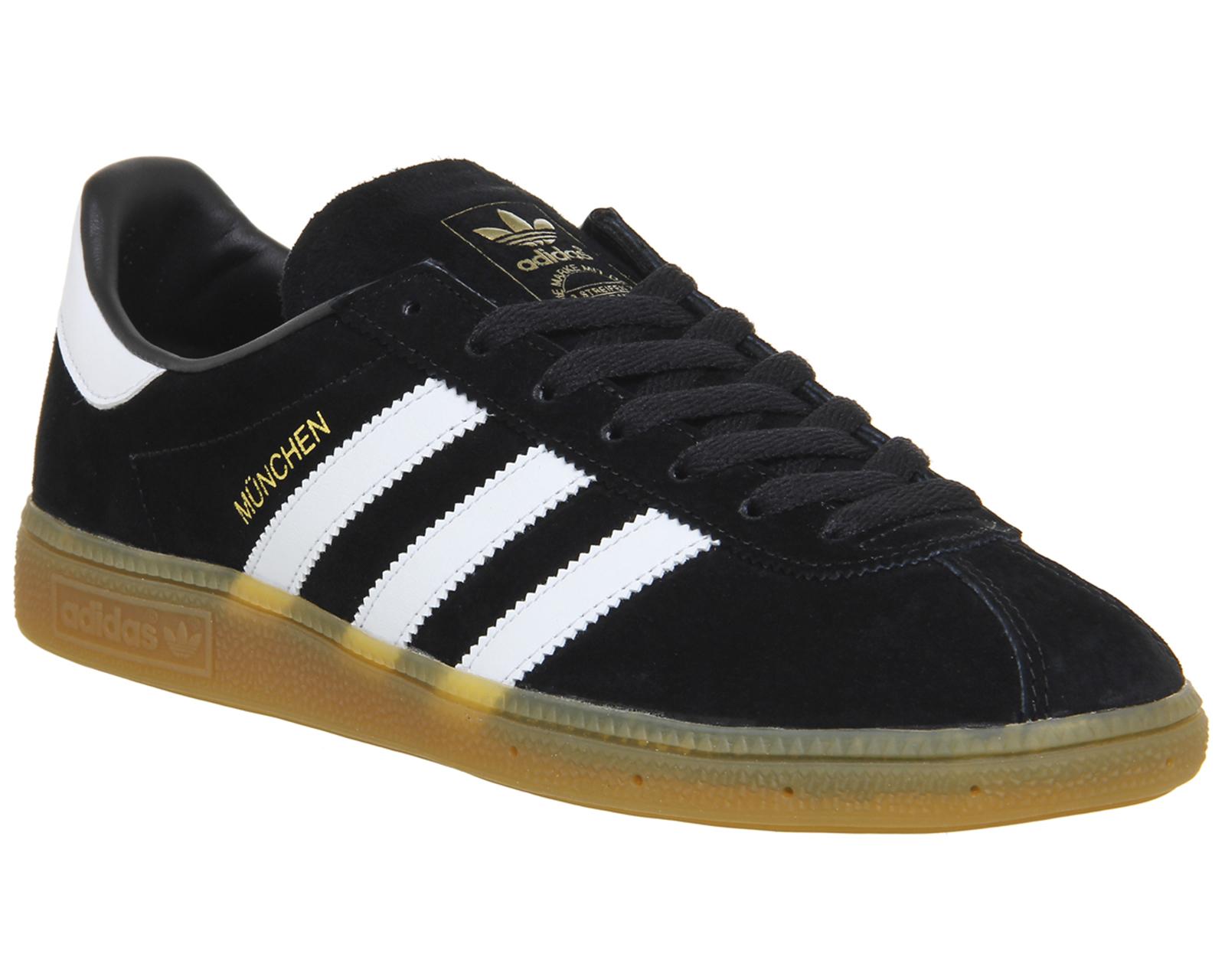 newest f7ad2 9d691 CENTINELA Adidas Munchen negro blanco zapatillas zapatos