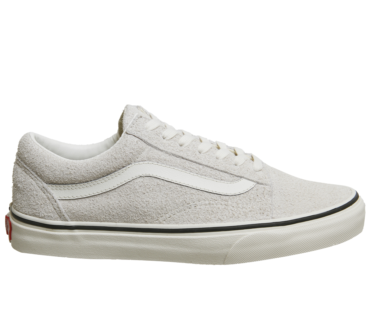 3d2a4e573490c4 Sentinel Mens Vans Old Skool Trainers GREY FUZZY SUEDE Trainers Shoes