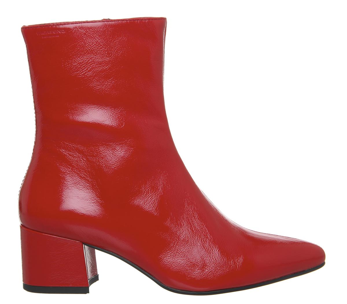 Vagabond rossa Stivaletti vernice donna Mya in Mid Wc0wRw46pq