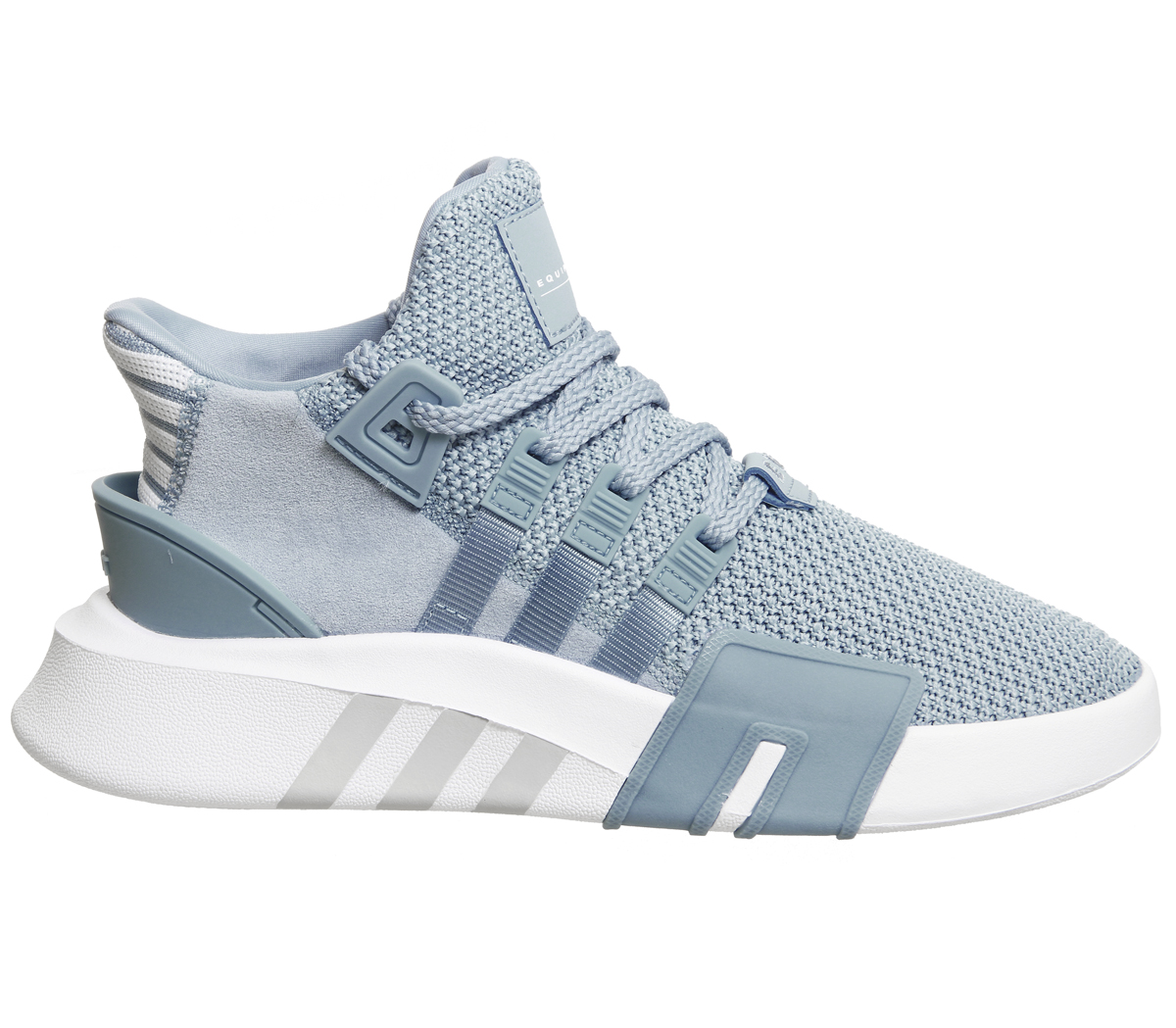 Womens Adidas Eqt Basket Adv Trainers ASH BLUE WHITE F Trainers ... 003366ee7d