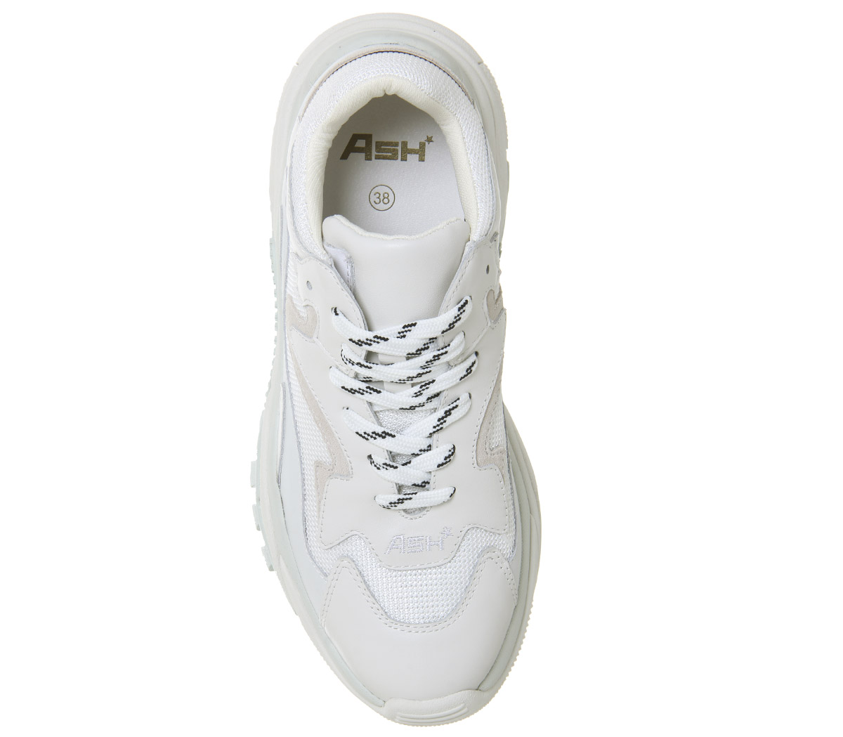 0df8a45a5f18b Womens Ash Addict Sneakers White Off White Trainers Shoes