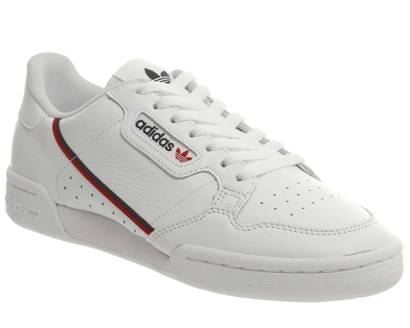 a7ab5401f1e04 Sentinel Adidas Continental 80 s Trainers WHITE SCARLETT COLLEGIATE NAVY  Trainers Shoes