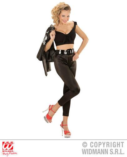 Womens-Ladies-Sexy-Sandy-Greaser-Girl-Fancy-Dress-  sc 1 st  eBay & Womens Ladies Sexy Sandy Greaser Girl Fancy Dress Costume 1950S ...