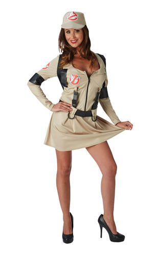 Female Ghostbuster Jupe Costume Robe Fantaisie Costume Adulte Femme Femme Femme Femmes fc5ac7