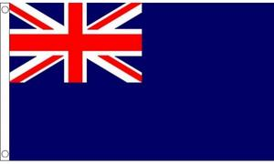 5Ft X 3Ft 5'X3' Flag Blue Ensign British Army Support Our Troops