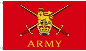 5Ft X 3Ft 5'X3' Flag British Army War Troops