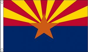 5Ft X 3Ft 5'X3' Flag Arizona America Usa State American