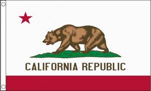 5Ft X 3Ft 5'X3' Flag California America Usa State American