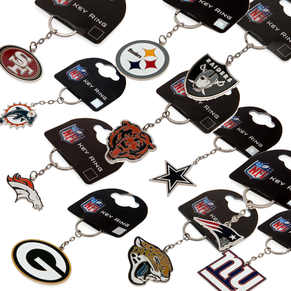 Sentinel NFL Team Keyrings Key Ring Fob 100% Official American Football  Memorabilia. Sentinel Thumbnail 2 db9a6f715bf6