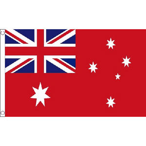Australia Ausralina Red Ensign Small Flag 3ft x 2ft Military Royal Air Force