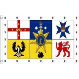 Australia Australian Royal Standard Small Flag 3ft x 2ft Oceania Aussie