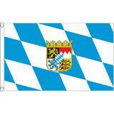 Bavaria Crest Small Flag 3Ft X 2Ft Bavarian Oktoberfest German Beer Festival