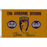 13Th Airborne Flag 5Ft X 3Ft Us Military Army Air Force Division Banner New