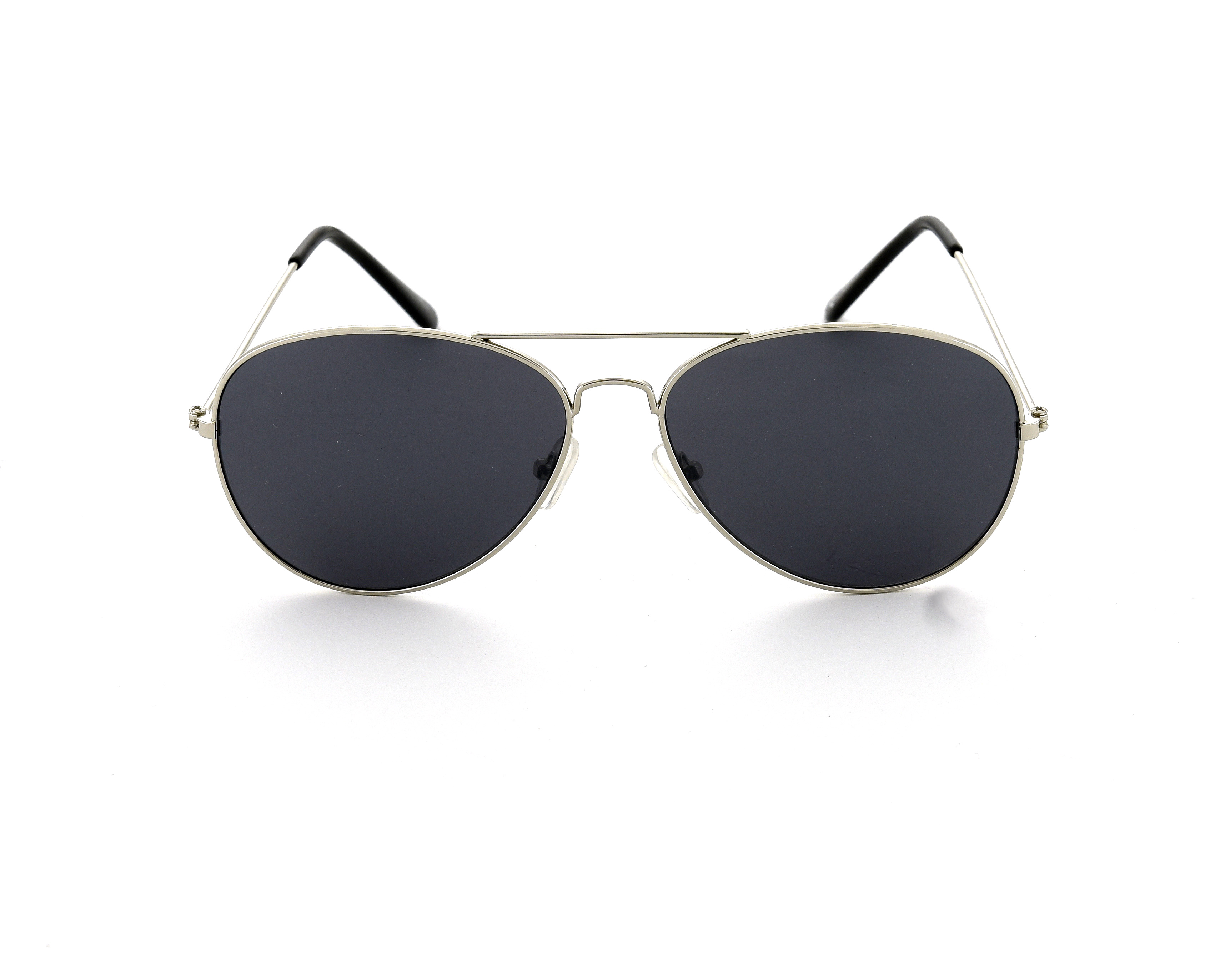 9d0ea27f09 Sentinel Silver Avitor Sunglasses Black Polarised Lens Designer Style Retro  Mens Ladies