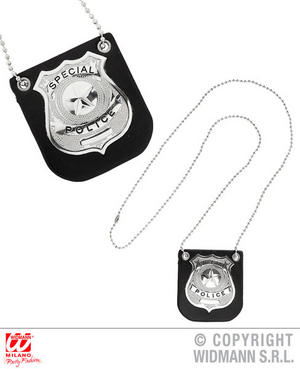 Clip On Police Badge Cops And Robbers 999 Fancy Dress Costume Accessory