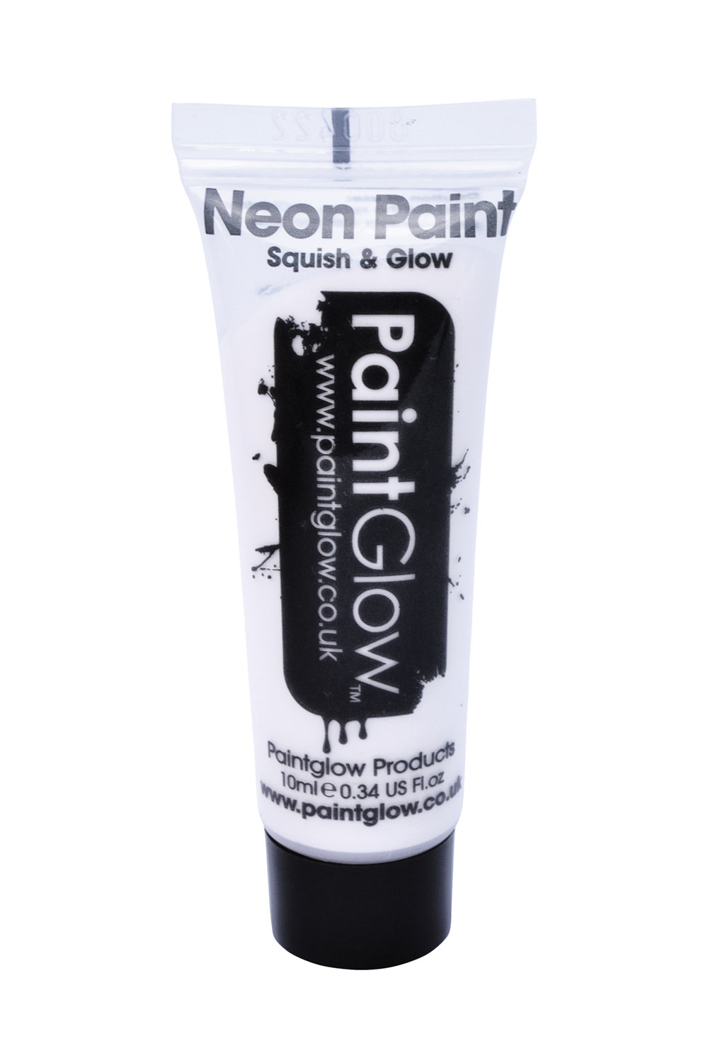 Uv Neon White Face Body Paint 10Ml Halloween Ghost Festival Make Up Accessory