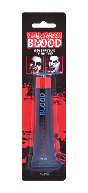 Fake Blood 26Ml Halloween Fancy Dress Costume Make Up Zombie Monster Face Paint