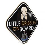 Newcastle United Fc Little Dribbler In Car Window Baby On Board Sign