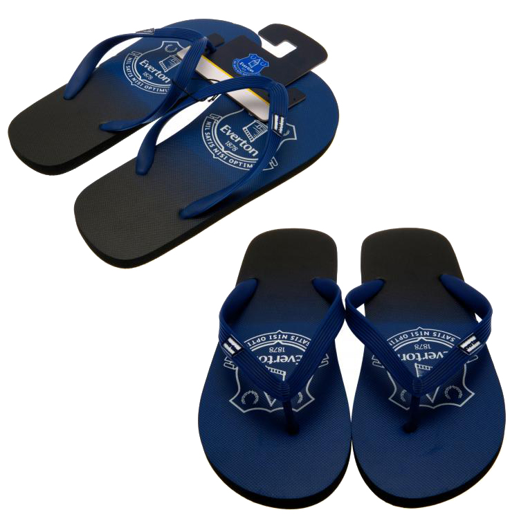 eacfa1662c3d5f Football Soccer Official Flip Flops Slippers Shoes Childrens   Adult ...