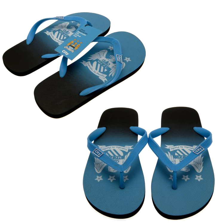 5ca423acf0b0 Football Soccer Official Flip Flops Slippers Shoes Childrens   Adult ...