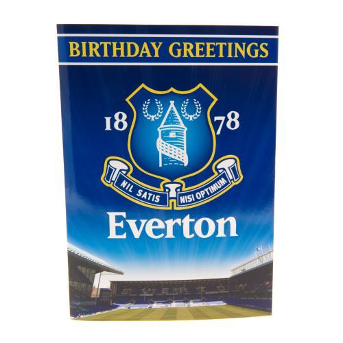 Everton Fc Musical Birthday Card Music Playing Grettings Stadium – Everton Birthday Cards