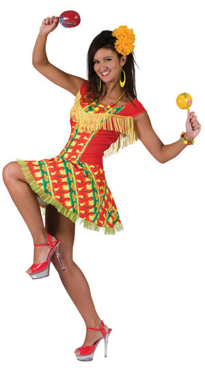 Womens Mexican S Fancy Dress Costume Mexico Mariachi Fiesta Carnival Outfit New