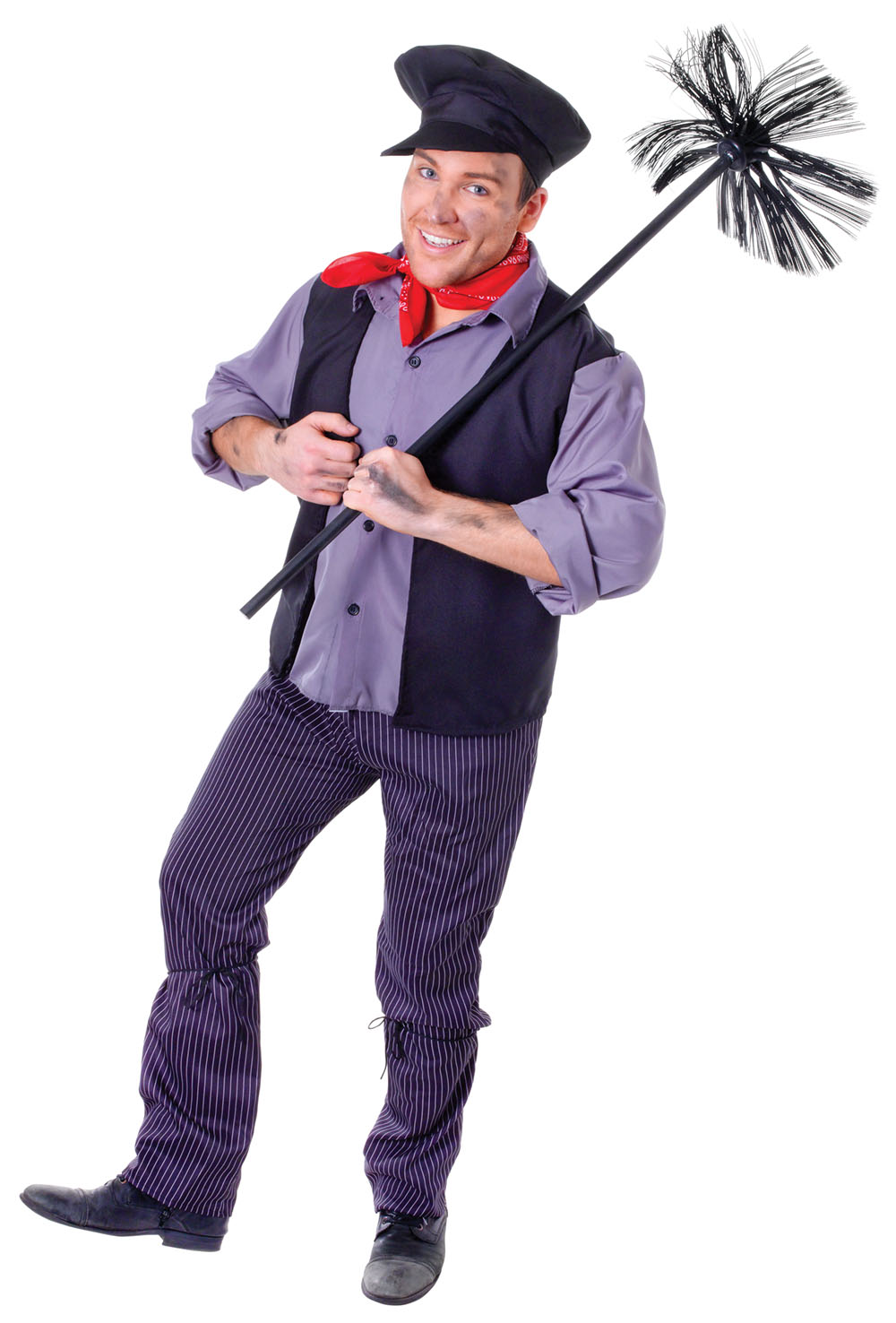 Victorian Chimney Sweep Fancy Dress Costume Mary Poppins Bert Book Week Outfit