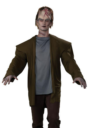 Adult Frankenstein Fancy Dress Costume Halloween Monster Horror Outfit Party New