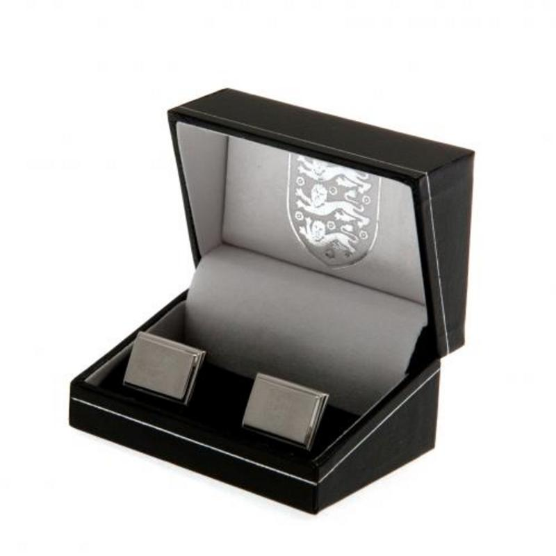England Football Team FA Stainless Steel Cufflinks In Executive Gift Box New