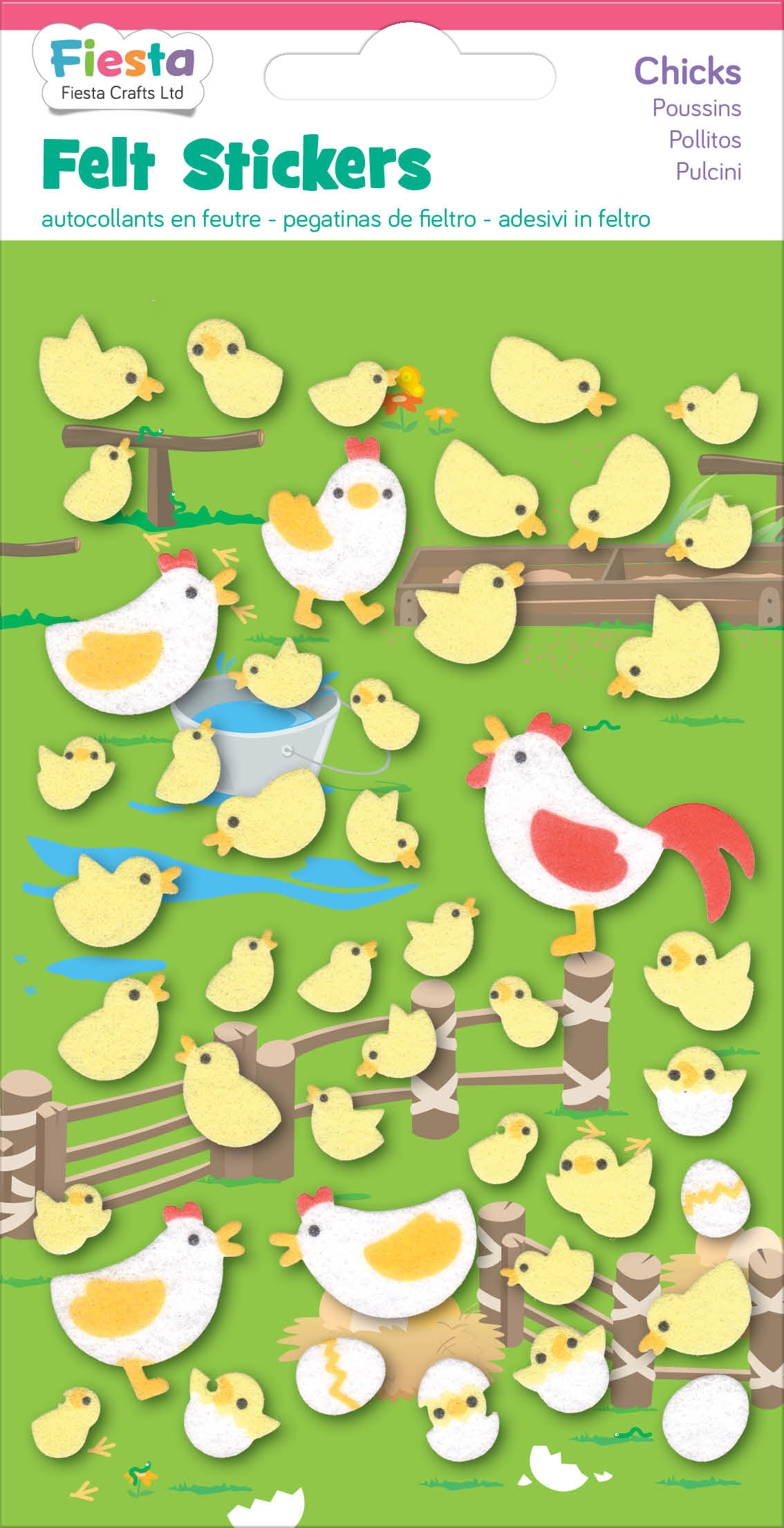Creative Toys & Activities Pig Felt Stickers Farm Animals Sticker