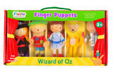 The Wizard Of Oz Story Time Finger Puppet Puppets Gift Set Kit Officiall 3+