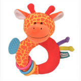 Giraffe Ringaling Baby Teether Soft Toy Comforter Rattle Newborn Gift Boy Girl