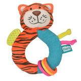 Tiger Ringaling Baby Teether Soft Toy Comforter Rattle Newborn Gift Boy Girl