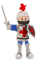 St George The Knight Mike Hand Puppet For Theatre & Story Time By Fiesta Crafts