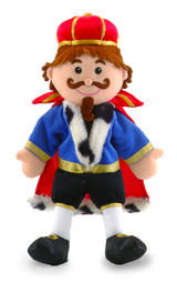 Royal King Of The Castle Hand Puppet For Theatre & Story Time By Fiesta Crafts