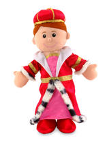 Royal Queen Of The Castle Hand Puppet For Theatre & Story Time By Fiesta Crafts