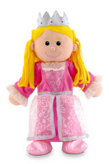 Royal Princess Of The Castle Hand Puppet For Theatre & Story Time Fiesta Crafts