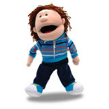 Boy Child Hand Puppet For Theatre & Story Time - Role Play Adoption