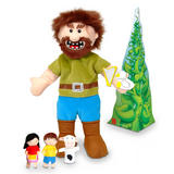 Jack & the Beanstalk Hand & Finger Puppet Theatre Kit Set Fiesta Crafts